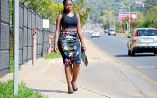 paint pencil skirt, artistic pencil skirt, paint skirt