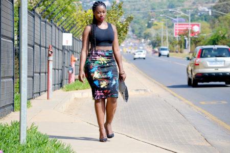paint pencil skirt, artistic pencil skirt, paint skirt