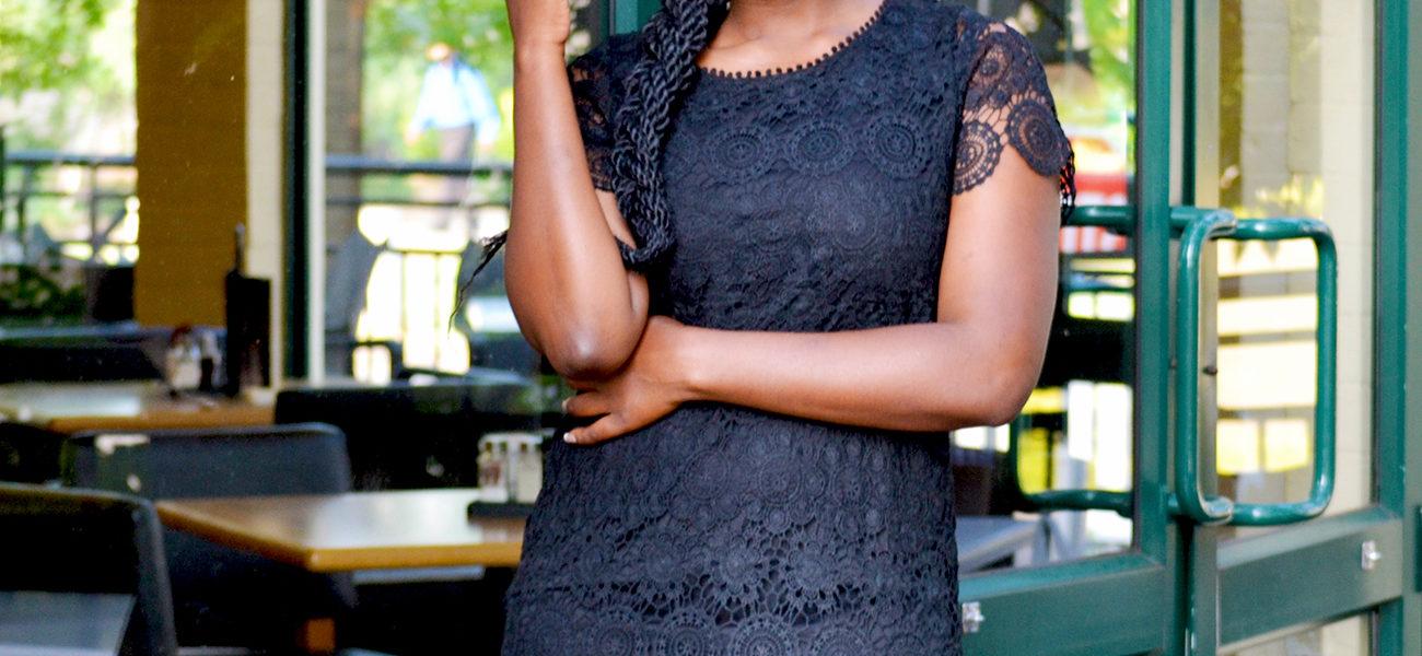 rage little black dress