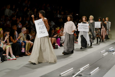 feesmustfall fashion week fees must fall