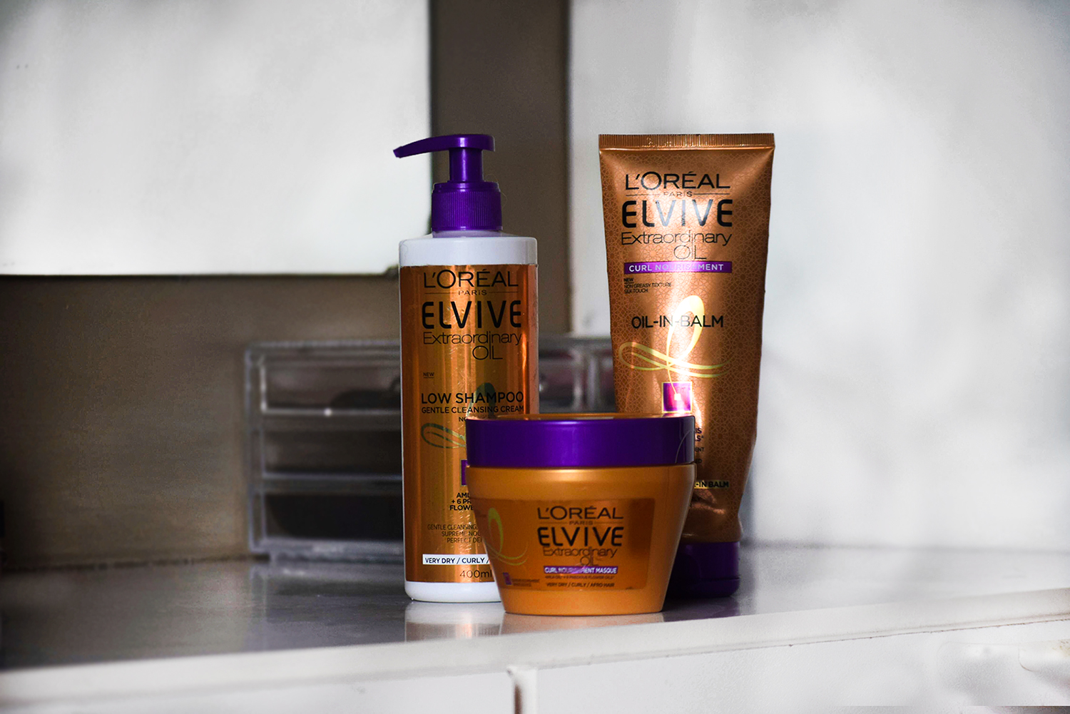 ELVIVE Extraordinary Oil review for Afro Hair