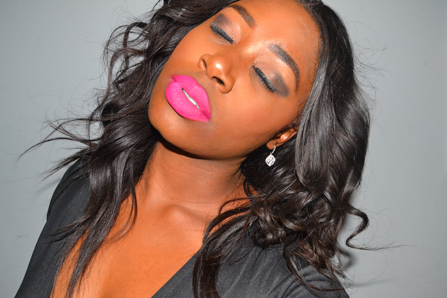 PINK MAKEUP IDEAS FROM SA BEAUTY BLOGGER FOR DARK SKIN GIRLS