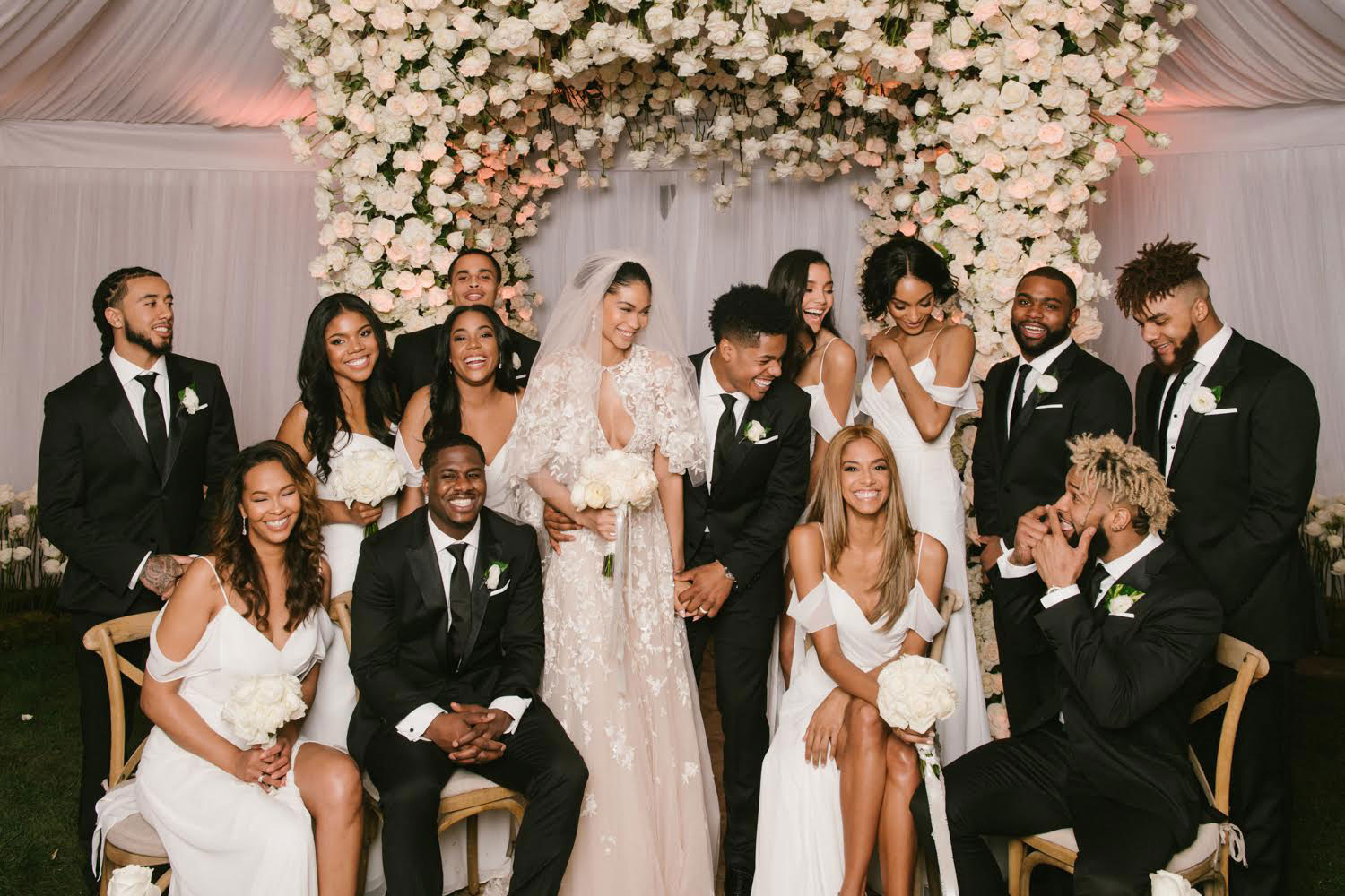 CHANEL IMAN GOT MARRIED TO STERLING SHEPARD AND HER DRESS IS BREATHTAKING