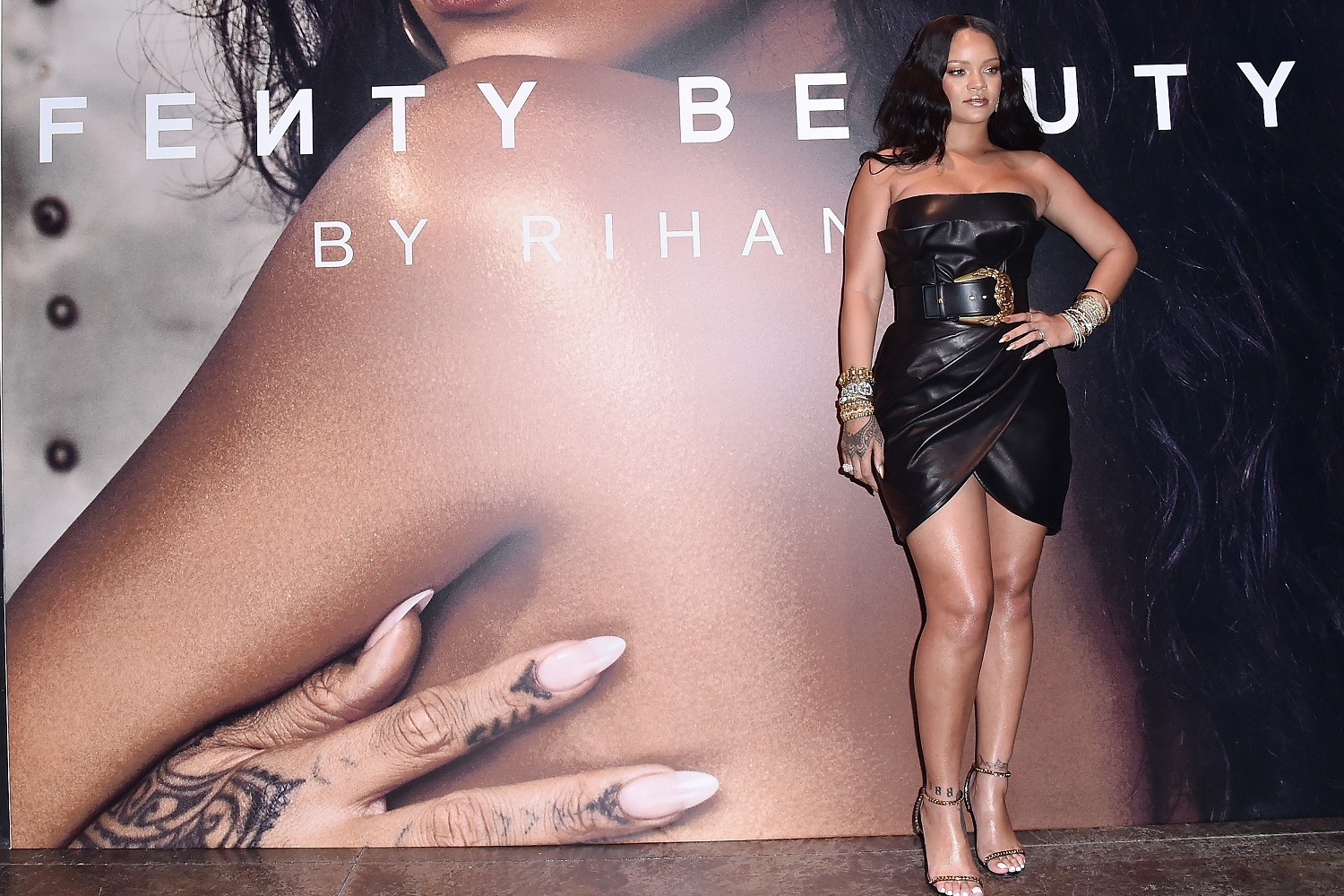 RIHANNA LAUNCHES FENTY BEAUTY IN ITALY