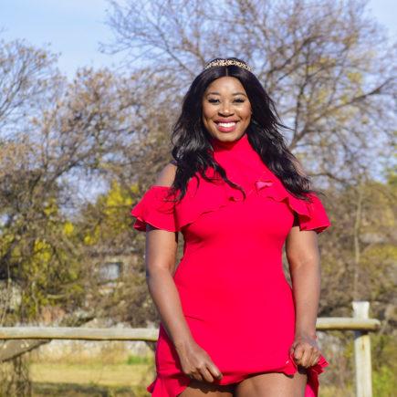 short pink fuschia dress