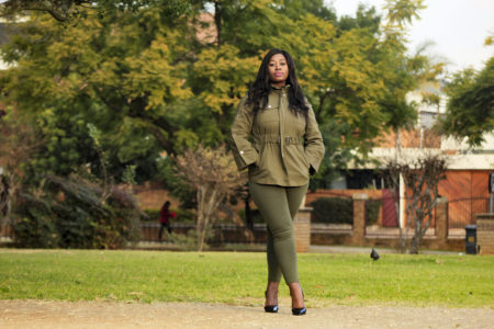 Military Green Outfit fashion blogger south africa
