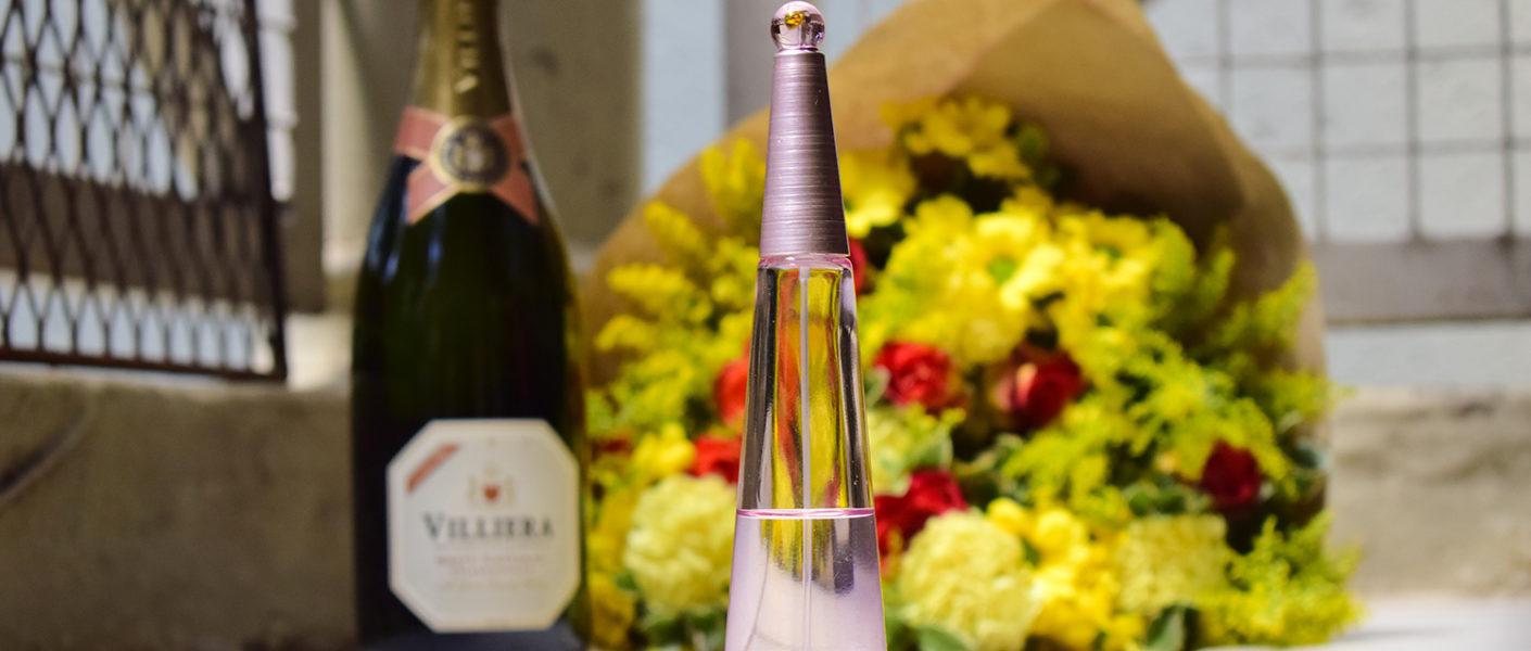 Perfumes and champagne ISSEY MIYAKE
