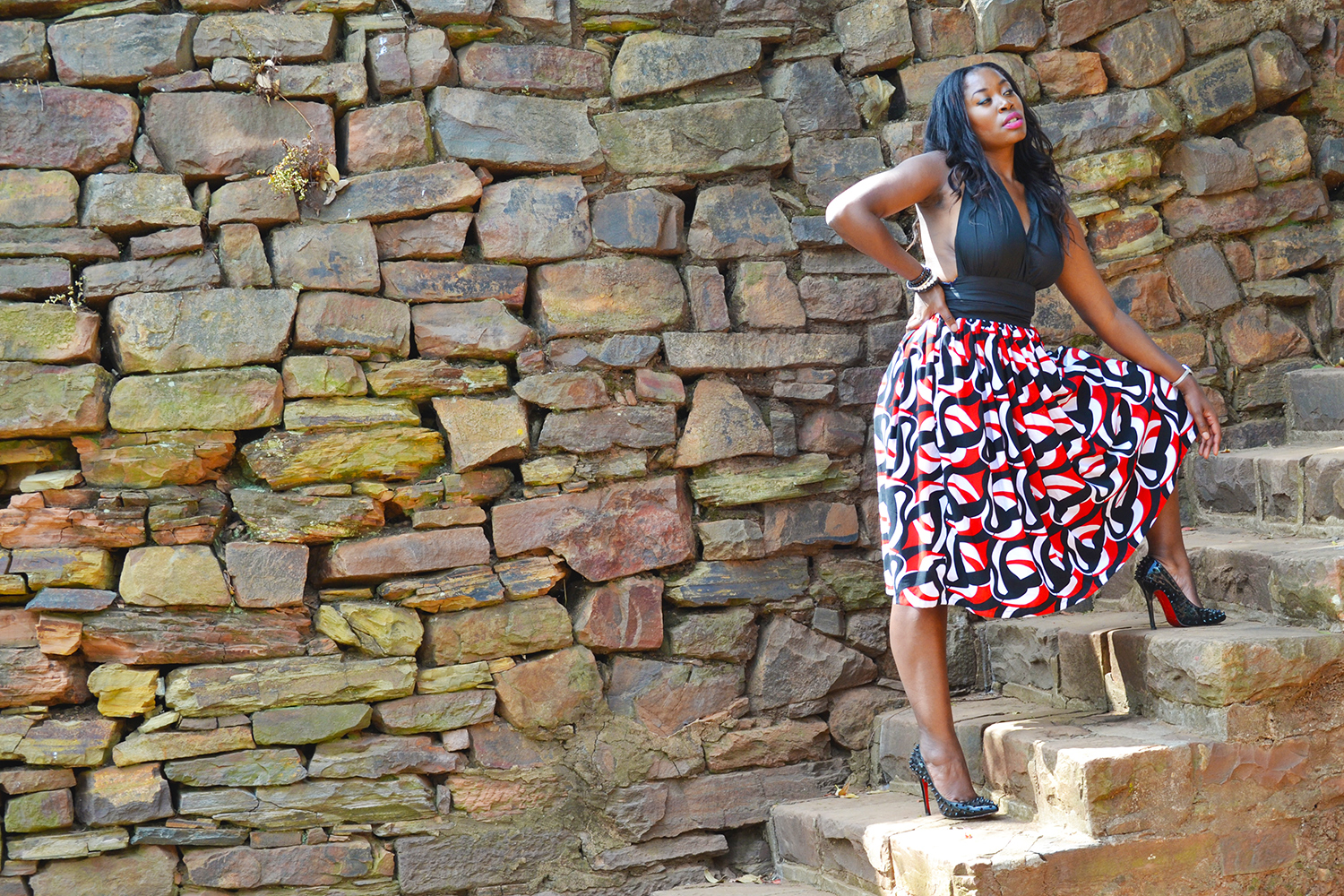 african fashion style sexy dress