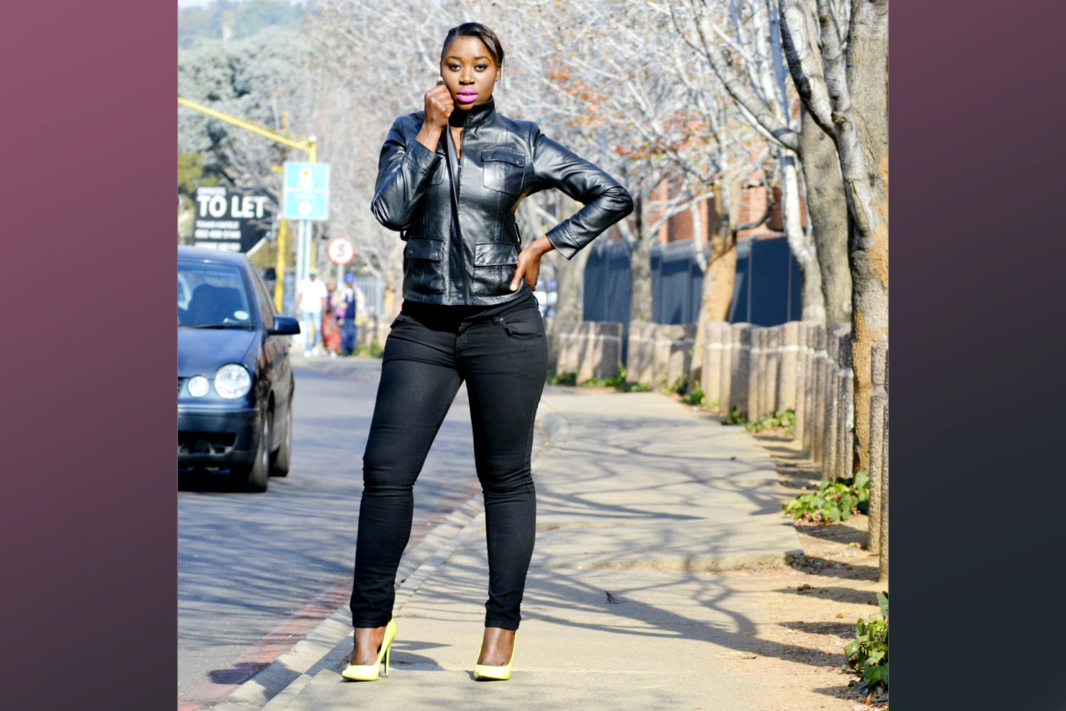 BLACK JEANS HAVE A SLIMMING EFFECT BUT WAIT TILL YOU SEE WHAT THEY CAN DO FOR YOUR BUTTOCKS