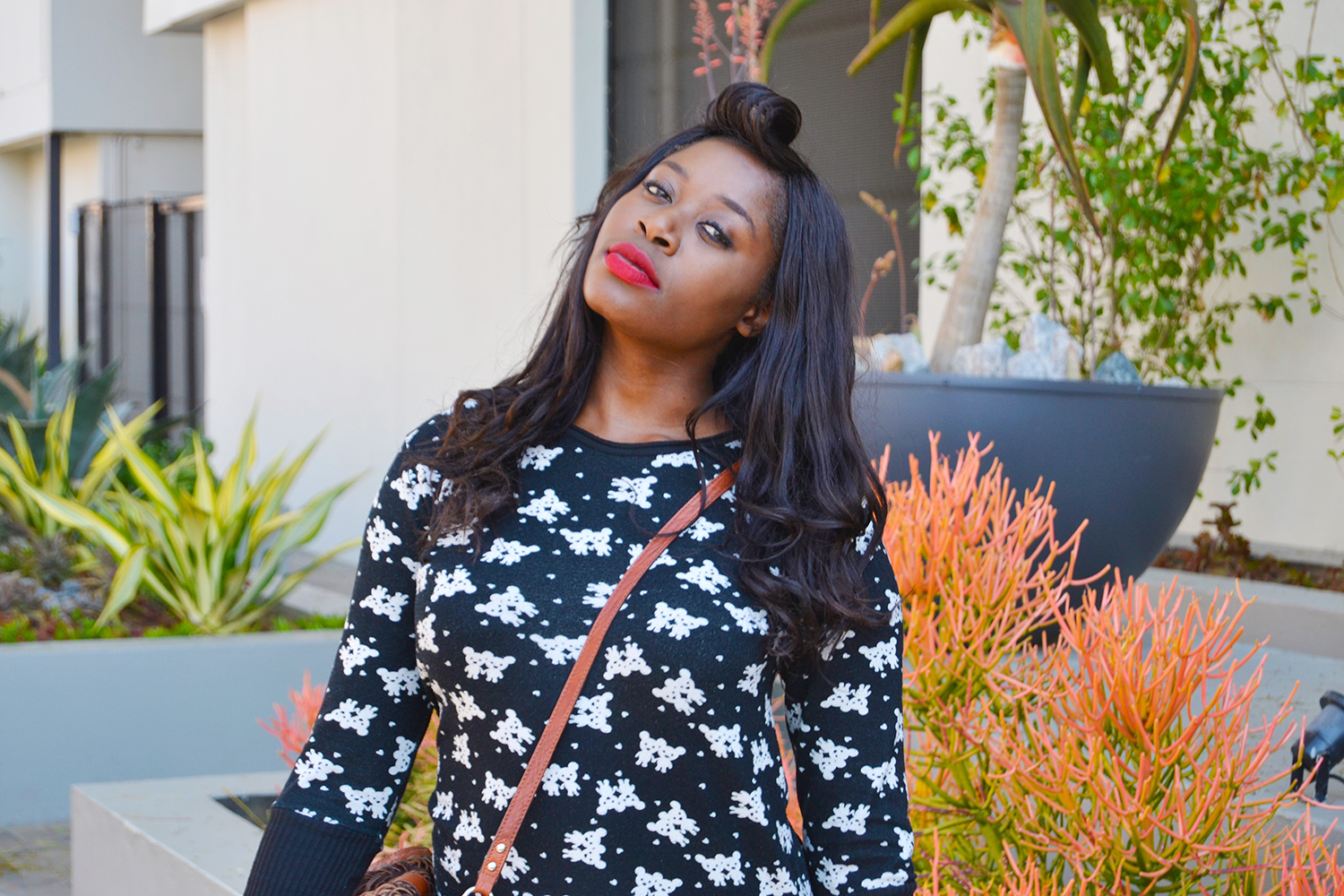 SAY GOODBYE TO WINTER WITH RED LIPS LIKE A BOSS