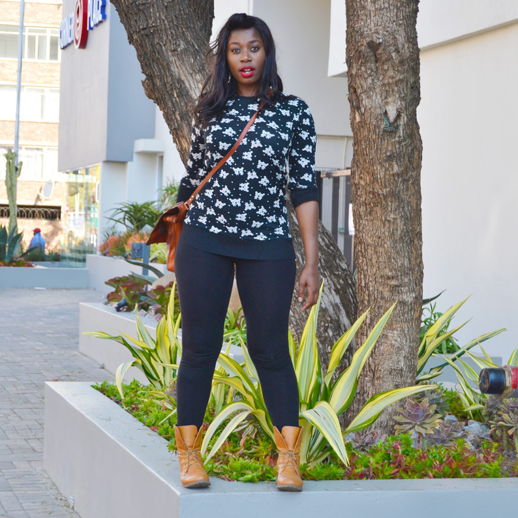butterfly print black and white sweater style south africa