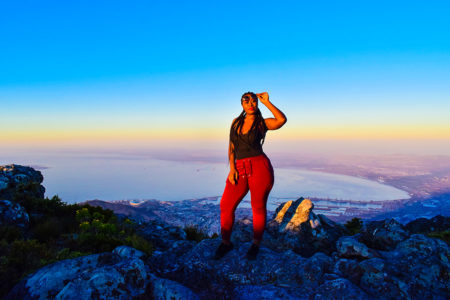 travel log, cape town, table mountain, African fashion blogger
