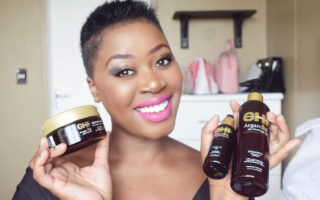 how to grow natural hair AFRO fast using chi argon oil plus moringa