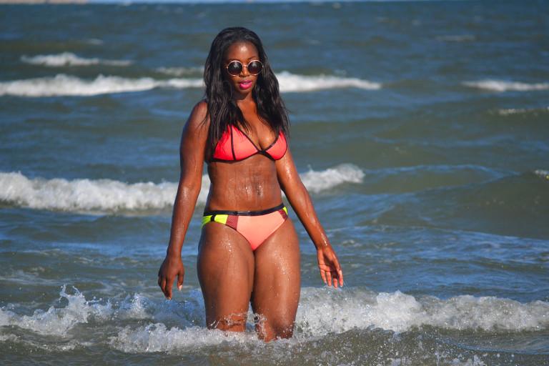 visit Mozambique, Maputo beach BIKINI