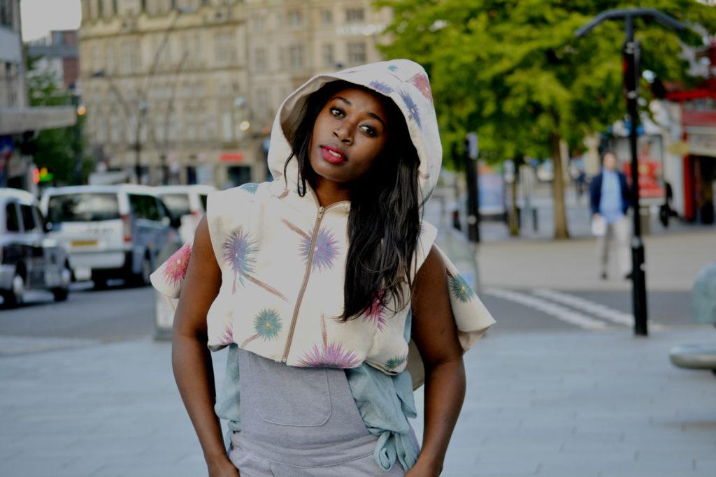 floral print jacket coat,