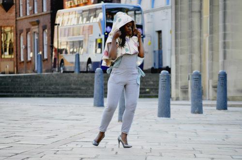 floral print jacket coat, Sheffieldl travel blog, south africa, black girl in Britain,