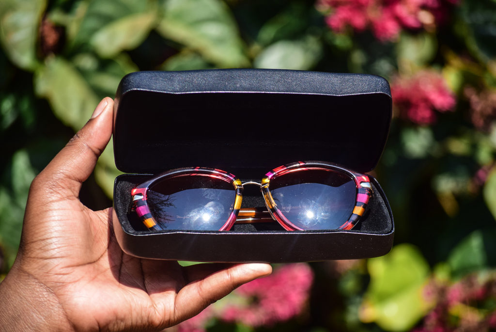 slaughter and Fox eyewear and 60% discount code. african fashion blogger
