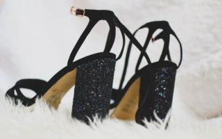 sparkly block heels river island (1)