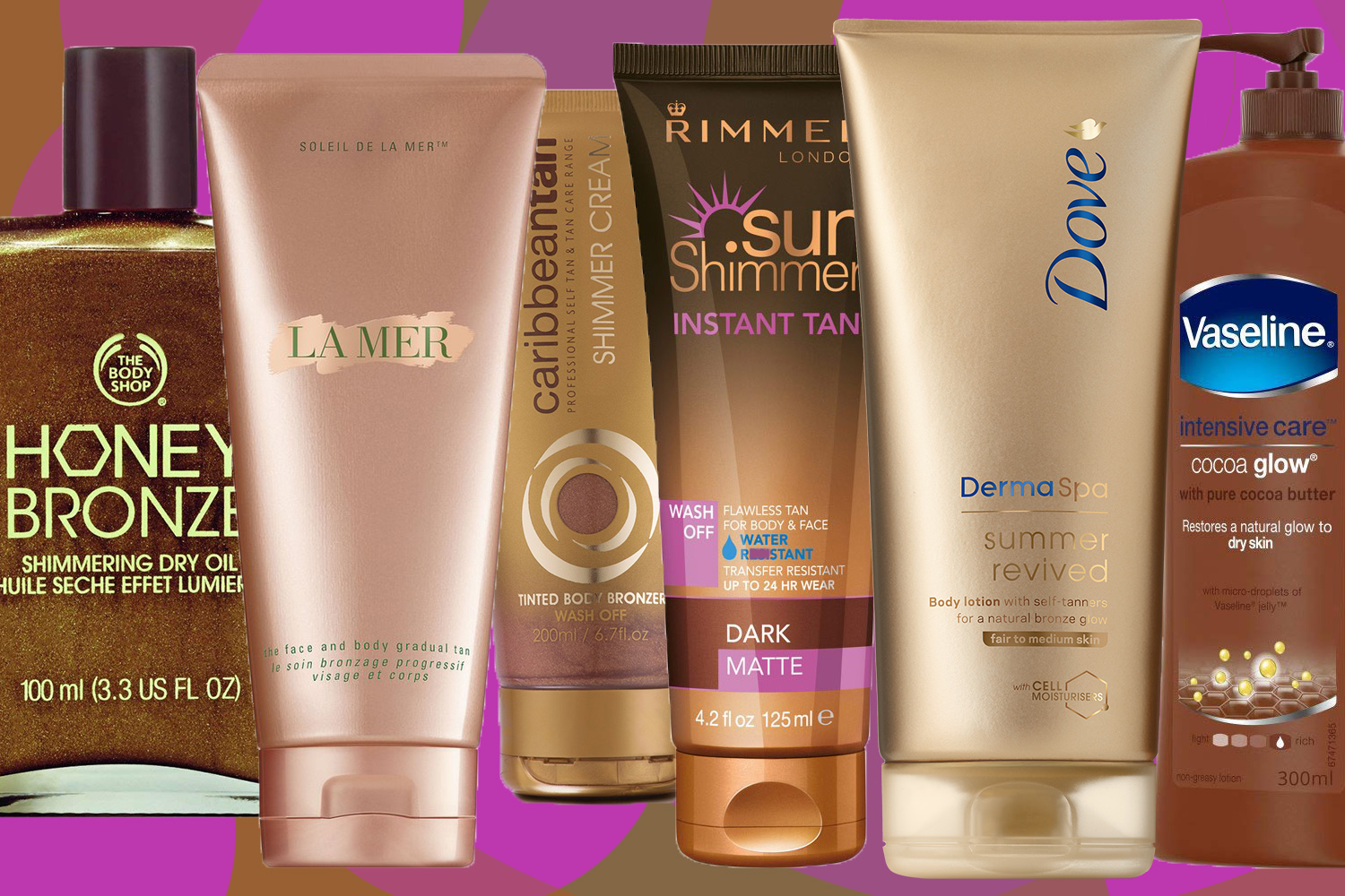 summer glow body lotions the best for the beach