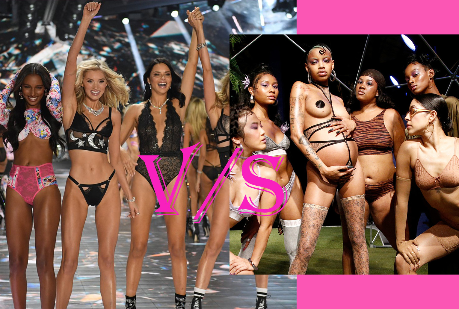 victorias secret show vs savage fenty rihanna