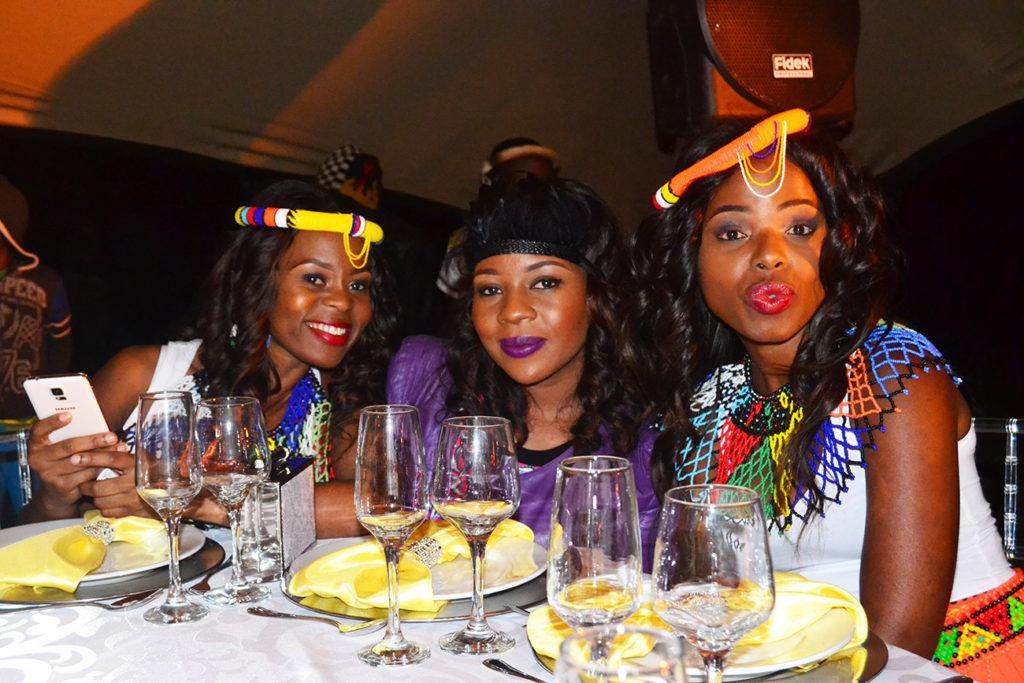 Zulu bridal wear brides maids