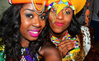zulu wedding attire bride and brides maids accessories