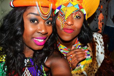 zulu wedding attire bride and brides maids accessories