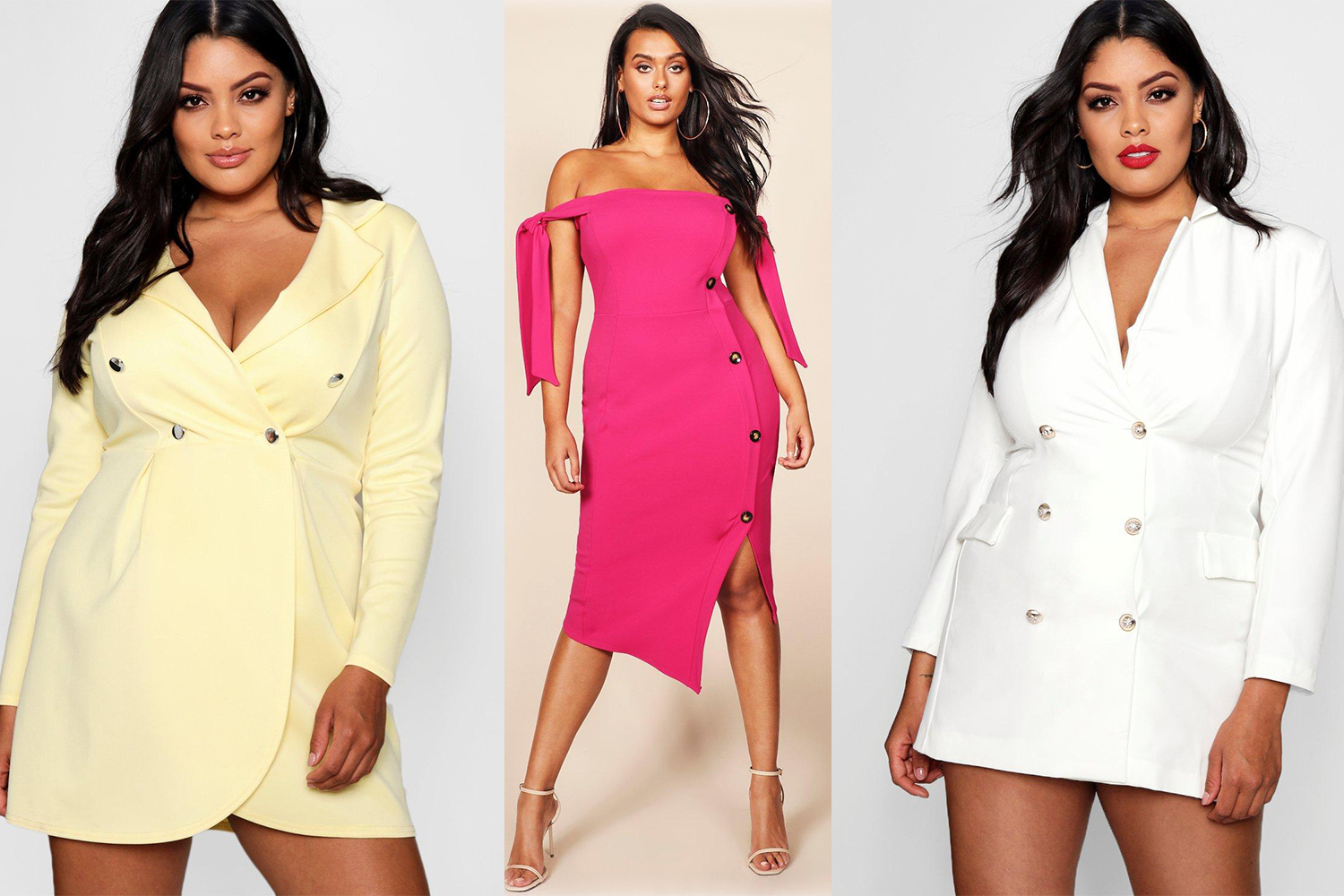 11 Blazer Dresses to wear with your curves  and where to find them
