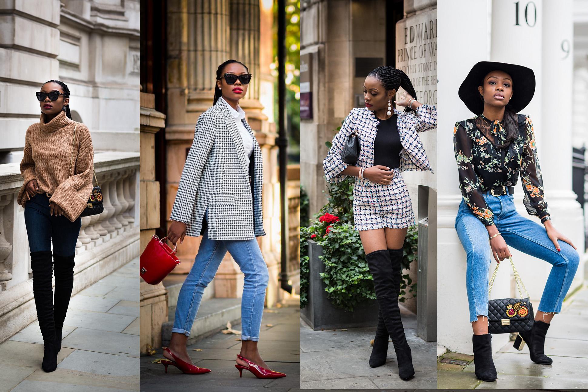 7 days in the wardrobe of Nigerian Fashion Blogger Tosin Alexandria Sho-Silva