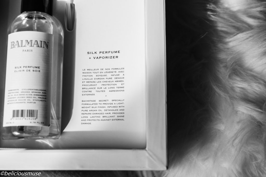balmain silk perfume review video