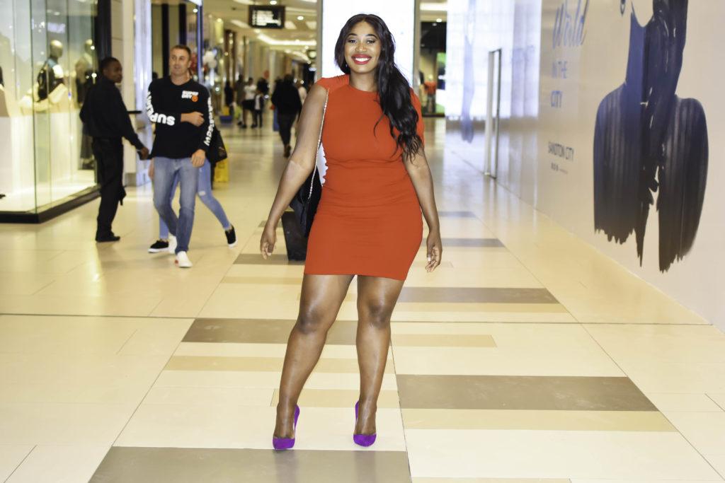 erre red dress fashion week