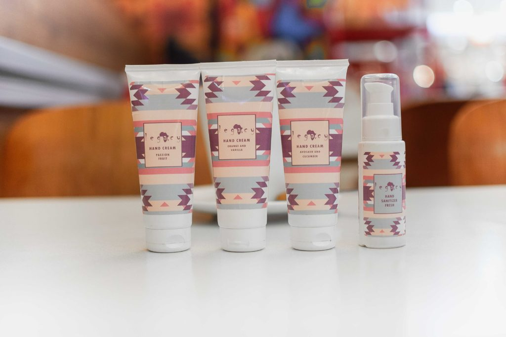 Africa Legacy hand sanitizer and hand cream beliciousmuse web