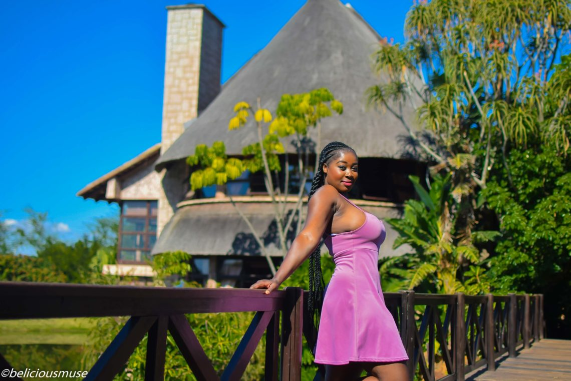 travel Swaziland purple pink dress summerfields
