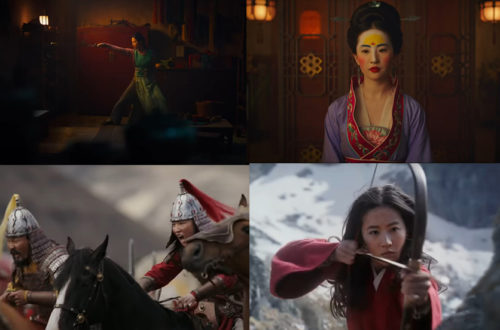 Live action Mulan Disney remake movie trailer