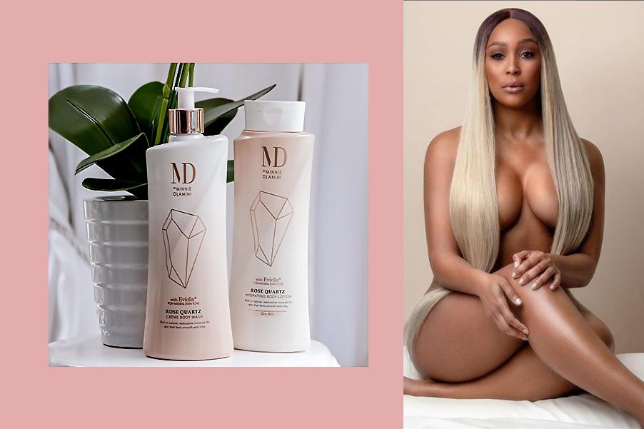 Minnie Dlamini Skin care