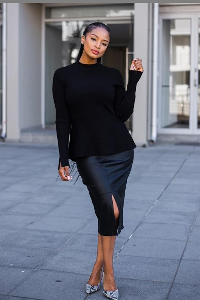 ayanda thabethe style winter fashion inspiration