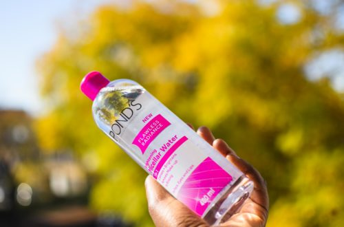 ponds flawless radiance brightning micellar water