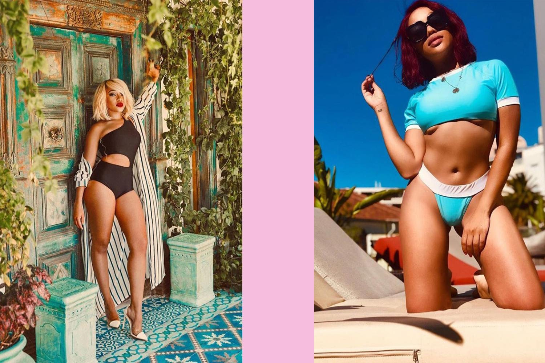 thando thabethe bikini 2019 images