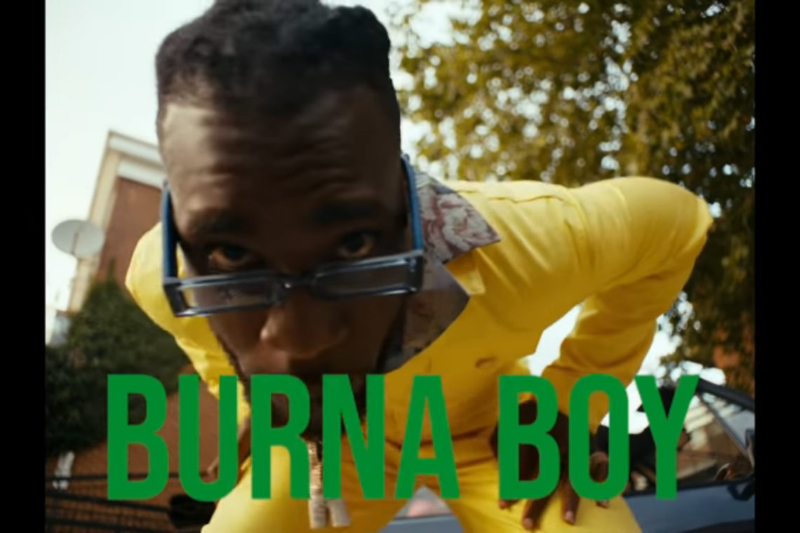 Burna Boy Pull Up video review