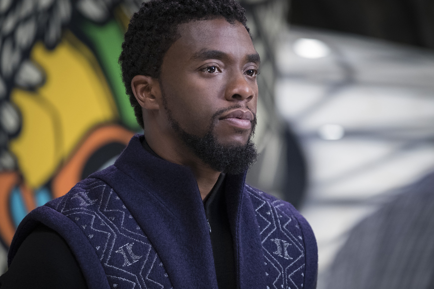 Chadwick Boseman Family Fest video and fans dont like his look