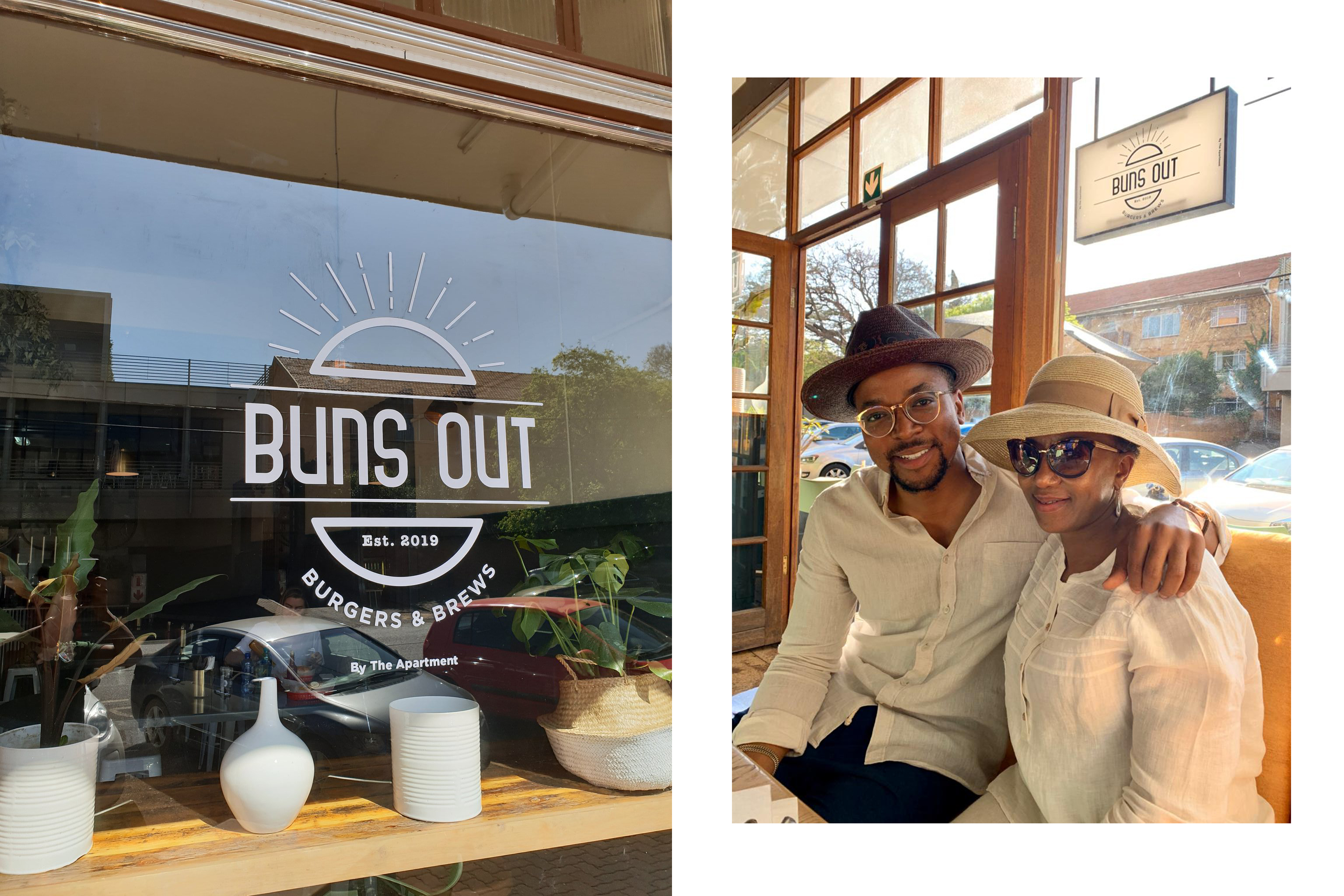 maps maponyane opens restaurant , maps maponyane buns out restaurant