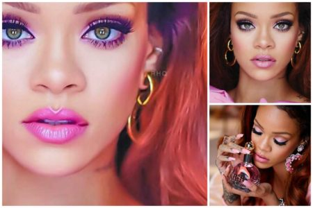 PINK-MAKEUP-IDEAS-FOR-BLACK-GIRLS-rihanna-fenty