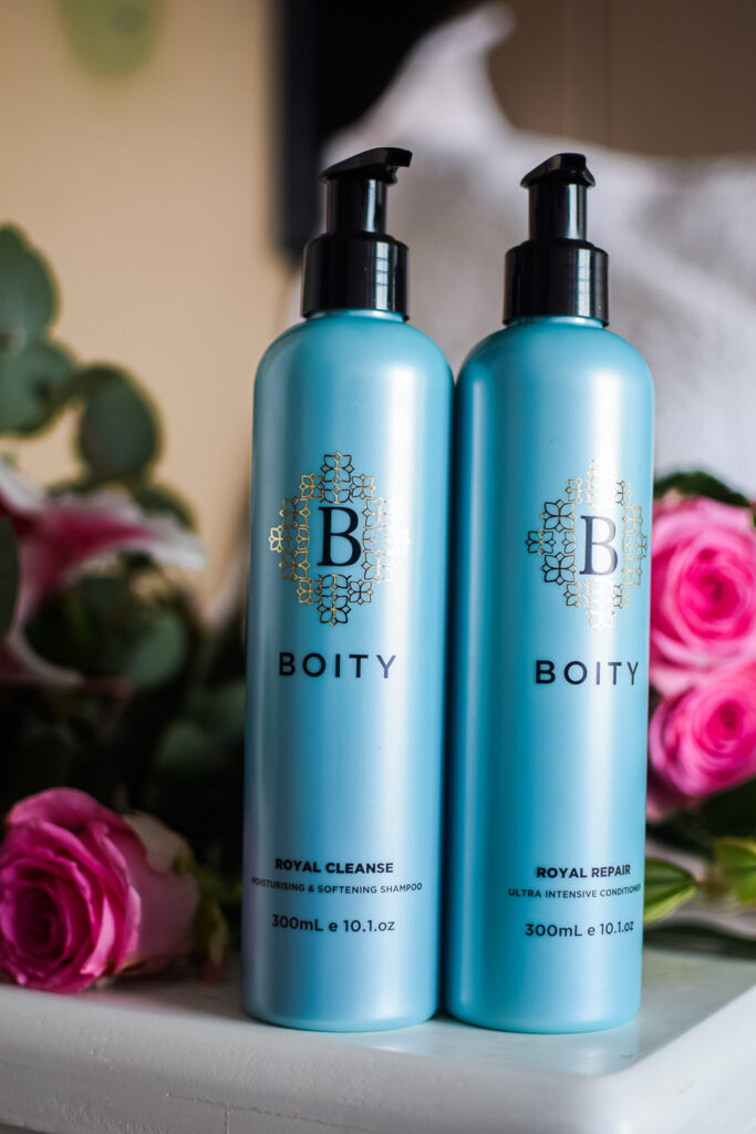 Boity hair care shampoo and conditioner